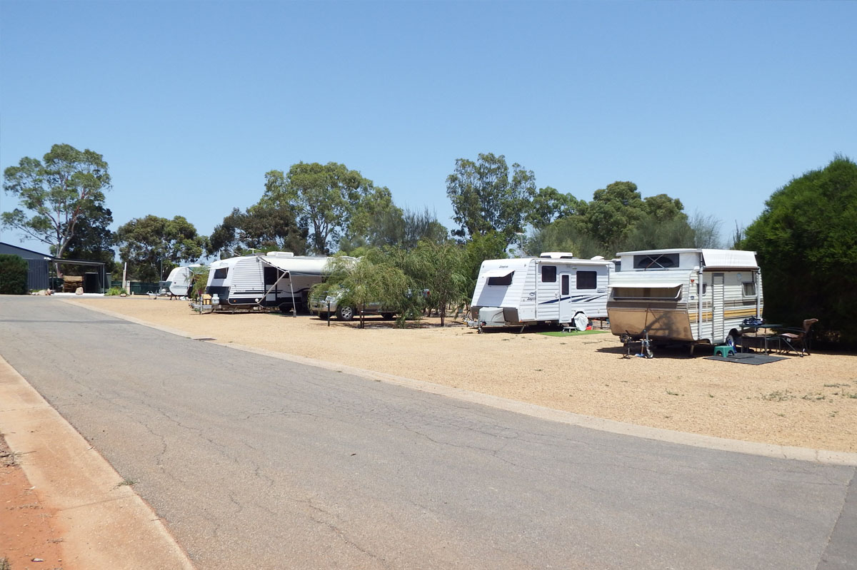 Powered Caravan Site in Gawler and Barossa